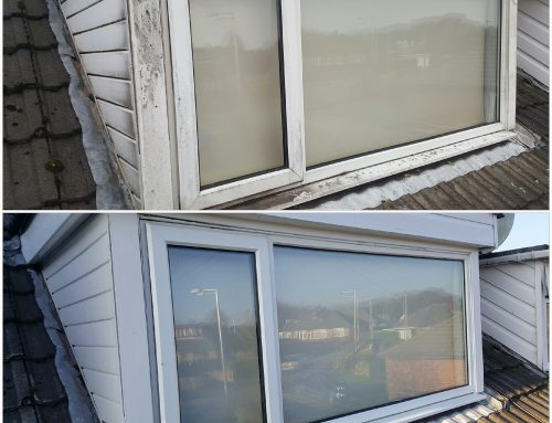 Upvc cleaning examples